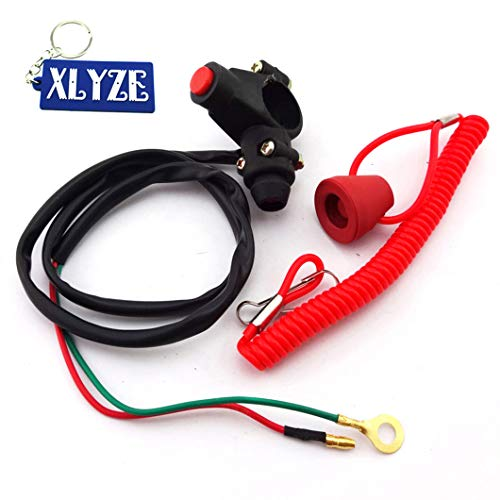 XLYZE - Arrêt moteur, attache fermé, interrupteur de sécurité, poussoir à 2 temps