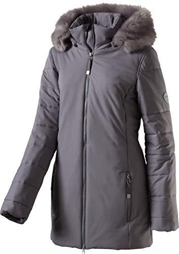 McKINLEY Damen Wander Freizeit Funktions - Mantel mit Kapuze Argo grau, Größe:42