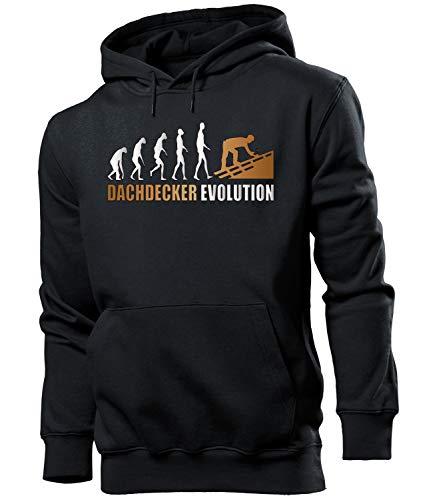 Golebros Dachdecker Evolution Herren Männer Hoodie Kapuzen Pullover Sweatshirt Pulli Artikel Geschenke Geburtstag Arbeitskleidung zubehör Berufsbekleidung Oberteil Outfit ausrüstung