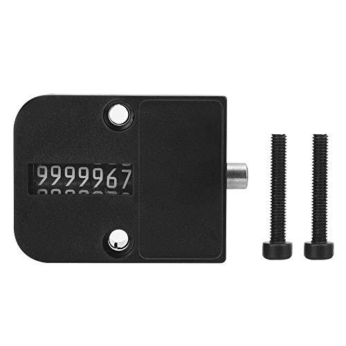 Handteller 7-cijferig zeer nauwkeurig mechanisch getal klikmeter 0-99999 automatische geheugenformeller vierkant