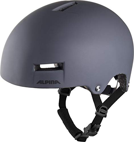 Alpina AIRTIME Casco de Ciclismo, Unisex-Adult, Charcoal, 52-57