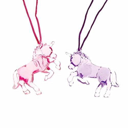 U.S. Toy JA743 Unicorn Necklaces