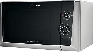Electrolux EMM21150S Encimera - Microondas (Encimera, Microondas con grill, 18,5 L, 800 W, Giratorio, Plata)
