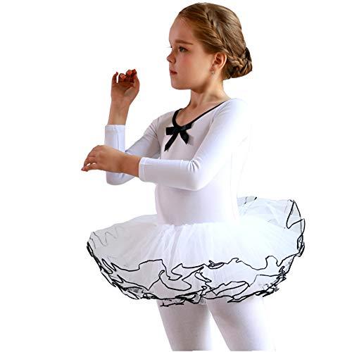 Ksith danskleding voor kinderen, balletjurk voor meisjes, lange mouwen, herfst en winter, lichaamskleding voor kinderen, pakken voor de huid