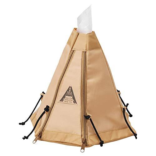 ロールティッシュケース テント ティッシュケース かわいい テント型 トイレットペーパーカバー キャンプ テント モチーフ ピクニック インテリア