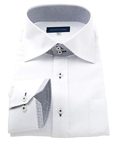 men's uno(メンズウーノ) 長袖ワイシャツ uaubuc メンズ uc2 055-3L