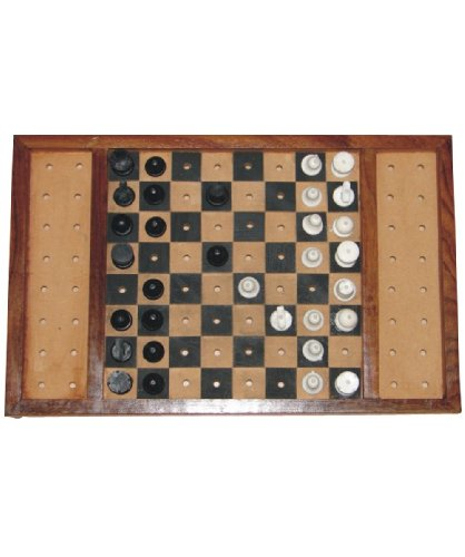 The Braille Store Classic Chess Set for blind and sighted players