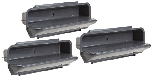 Great Price! Pentair 82400800 Gray ABS Steps Pool Specialty Fittings, Set of 3