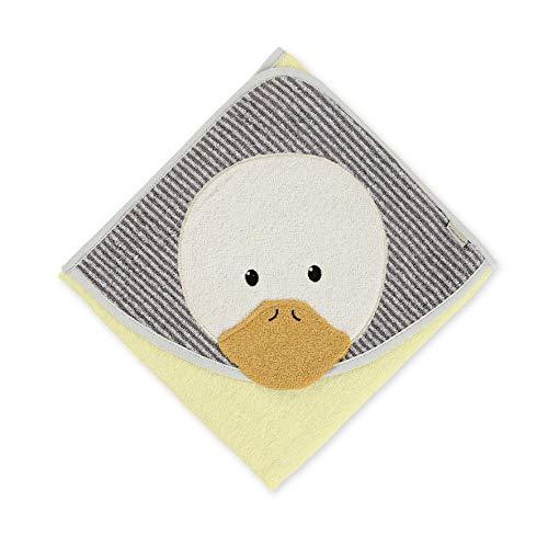 Serviette de Bain Sterntaler Edda le Canard, Âge : À Partir de 0 Mois, 80 x 80 cm, Jaune