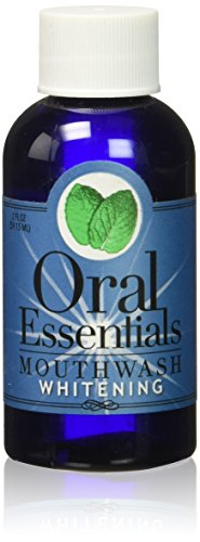 Oral Essentials Teeth Whitening Travel Size, Mouthwash, 2 Ounce