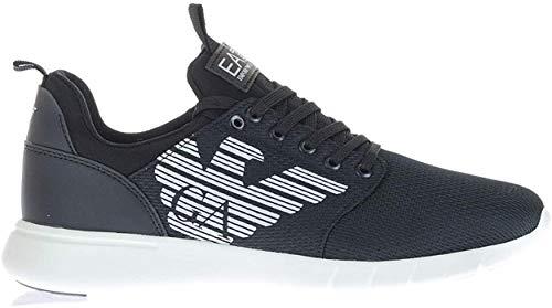 Emporio Armani Scarpe Sneakers Unisex Nero X8X007-XCC02-00002