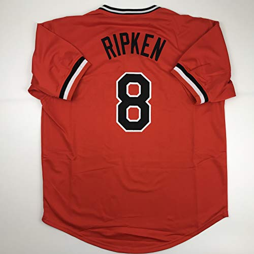 Unsigned Cal Ripken Jr. Baltimore Orange Custom Stitched Baseball Jersey Size Men's XL New No Brands/Logos