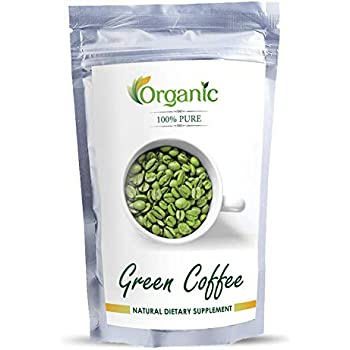 Perennial Lifesciences Organic Green Coffee Beans Decaffeinated and Unroasted - 200 g