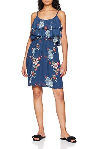 Pepe Jeans Damen Flora Kleid, Mehrfarbig (Multi Bleu 0aa), Large