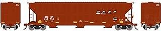 HO RTR FMC 4700 Covered Hopper BNSF #432735