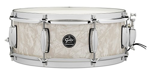 """Gretsch Drums Renown Series Snare Drum - 5""""x14"""" - Vintage Pearl"""