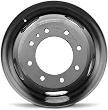 Road Ready Car Wheel For 2011-2019 Chevrolet Silverado 3500 GMC Sierra 3500 17 Inch 8 Lug Grey Steel Rim Fits R17 Tire - Exact OEM Replacement - Full-Size Spare