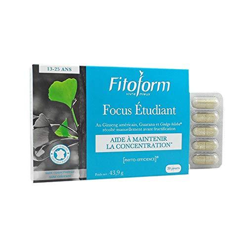 Focus Etudiant - Concentration 40 comprimes Fitoform
