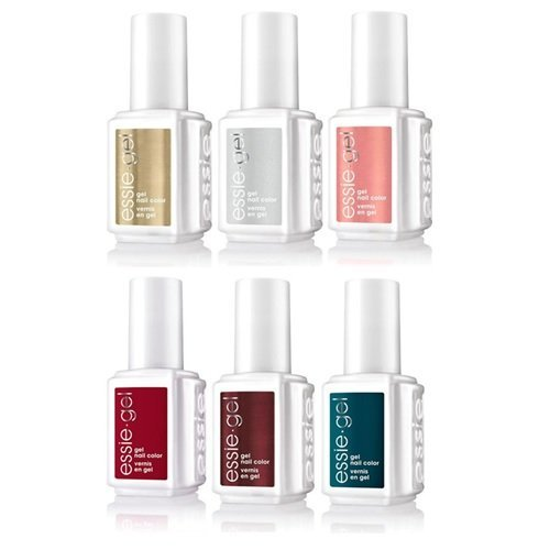 Essie Gel Polish - Getting Groovy 2016 Collection - ALL 6 Colors - 0.42oz / 12.5ml Each
