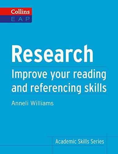 Research: B2+ (Collins Academic Skills) (English Edition)