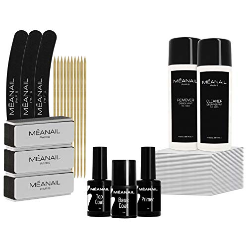Kit manucure soin des ongles + essentiels semi permanent - NEW ✦ Huile ongles...