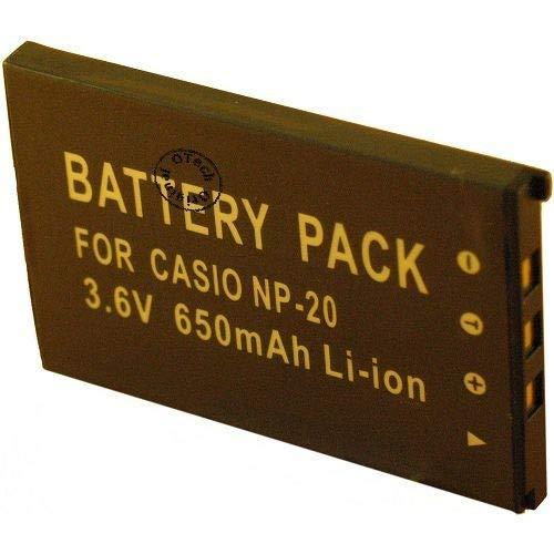 Batería para cámara de fotos Casio Exilim EX-S770