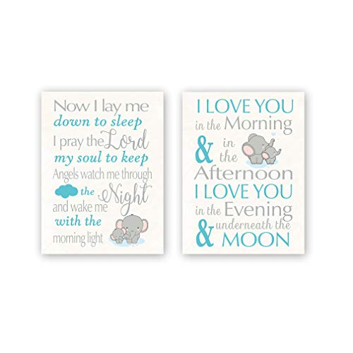 Elephant Wall Art Print - Inspirational Quotes on Canvas