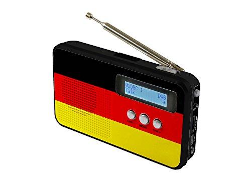 Reflexion TRA5005D+ Portables DAB+ UKW Radio mit Kopfhöreranschluss, Deutschland (GER / DEU)