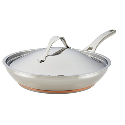 Anolon Nouvelle Stainless Stainless Steel Frying Pan