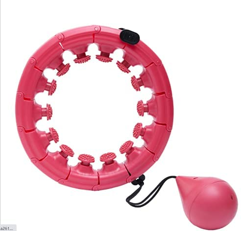 Limited time for free shipping Massageable Smart Gorgeous Hula Hoop 24 Automa Detachable With