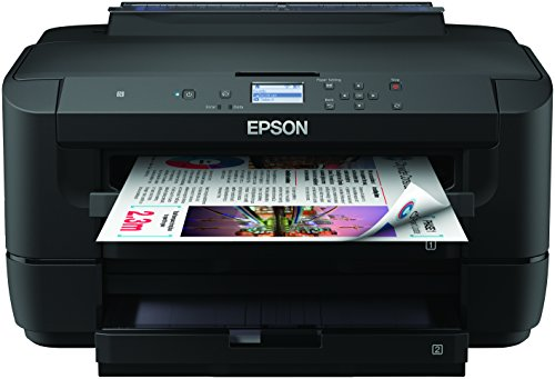 Epson WF-7210DTW WorkForce - Impresora A3 con dos Bandejas, USB, WIFI, color Negro