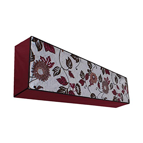 Lithara Waterproof Printed AC Cover for Split AC 1 Ton Indoor Unit