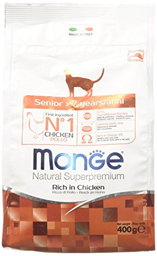 Monge Natural Superpremium Senior 400 gr