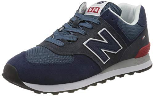 New Balance Herren 574v2 Sneaker, Blau (Blue Eae), 41.5 EU