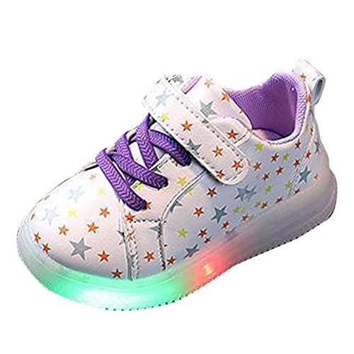 YWLINK Zapatillas De Deporte LED Para NiñOs, Zapatos Brillantes, Zapatos Ligeros,Calzado Deportivo,Calzado CasualZapatillas De Correr Con Suela Blanda,Zapatos De Escalada Al Aire Libre Respirable