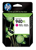 HP 940XL Cartouche d'Encre Magenta Grande Capacité Authentique (C4908AE)