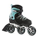 Bladerunner by Rollerblade Formula 100 Men's Adult Fitness Inline Skate, Black/Light Blue, 9 (0T100500821)