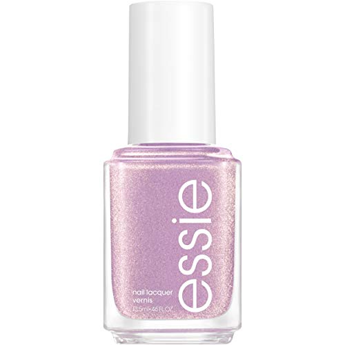 essie Nail Polish, Limited Edition Winter Trend 2020 Collection, Purple Nail Color With A Shimmer Finish, Sugarplum Fairytales, 0.46 fluid_ounces