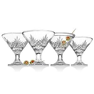 Godinger Martini Glasses, Cocktail Glass – Dublin Collection, Set...