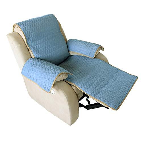 M'lady Anti-Cubierta Reclinable Antideslizante,Suave Protector para Sofás Cubiertas del Sofá por 3 Cushion Couch Lavable A Máquina Protector del Sofá -i Sofá