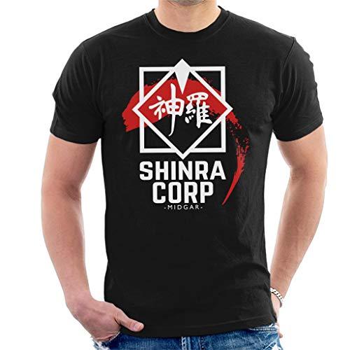 Shinra Corp Midgar Final Fantasy VII Men's T-Shirt