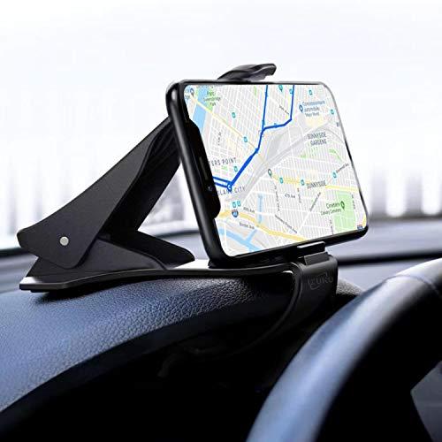 IZUKU Handyhalter fürs Auto Handyhalterung Auto KFZ Handy Halterung Armaturenbrett Universal Handyhalterung Auto Robust Smartphone Halterung Auto Kratzschütz für iPhone11/Pro/Samsung S20/Note10/Huawei