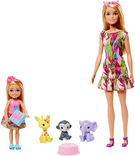 Barbie- DHA SP - Barbie & Chelsea Story Set (Mattel GTM82)