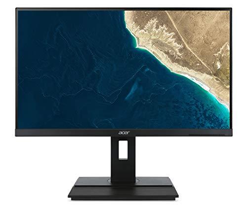 Acer B276HUL - LED monitor - 27' - 2560 x 1440 @ 60 Hz - IPS - 350 cd/m² - 6 ms - 2xHDMI, 2xDisplayPort, USB-C - speakers - dark grey