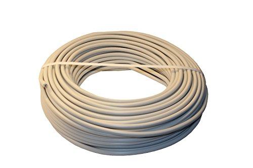 netbote24 Mantelleitung Installationsleitung NYM-J 3x1,5² PVC grau 5-50m (25m)