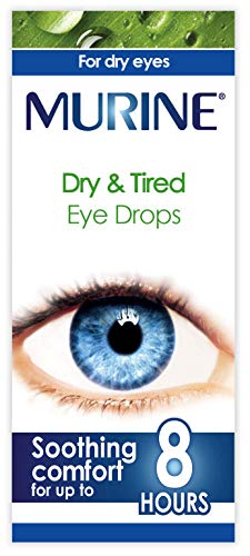 Murine Dry & Tired Eye Drops to Help Refresh and Relieve the Feeling of Tired and Dry Eyes, 15 ml