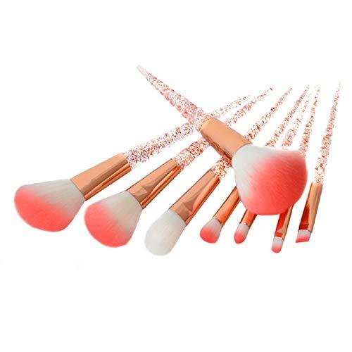 Healthy Care - Juego de 8 brochas de maquillaje para sombra de...