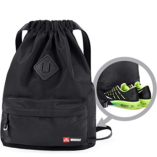 WANDF Drawstring Backpack Bag