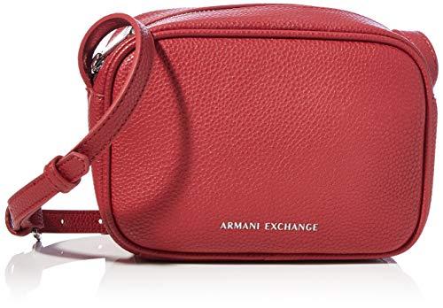 Armani Exchange Womens Camera Case, Bordeaux, One Size
