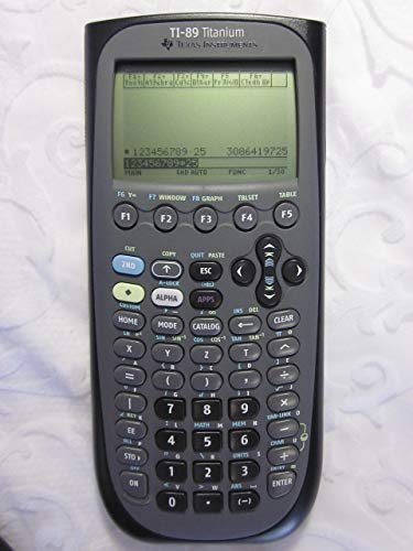 TI-89 Titanium Programmable Graphing Calculator, Sold as 1 Each (Renewed)